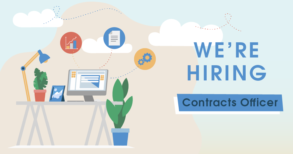 We're Hiring - Contracts Officer